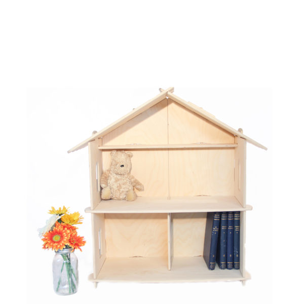 Medium Wood Dollhouse